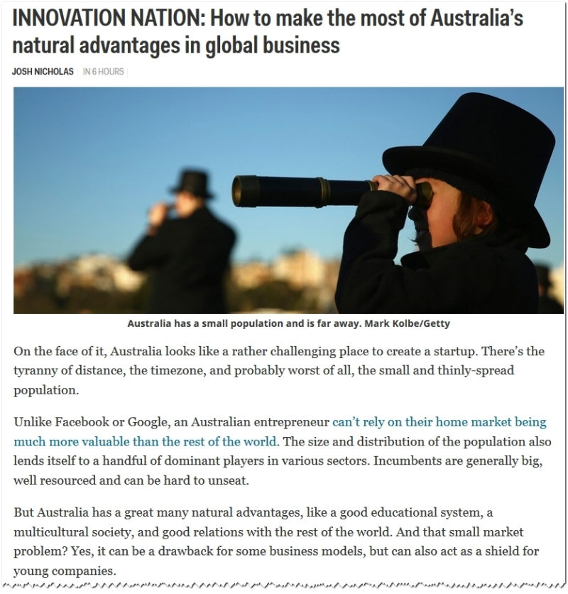 Australia Global Business