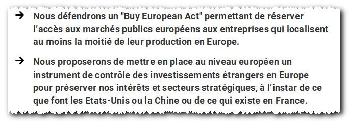 Buy European Act